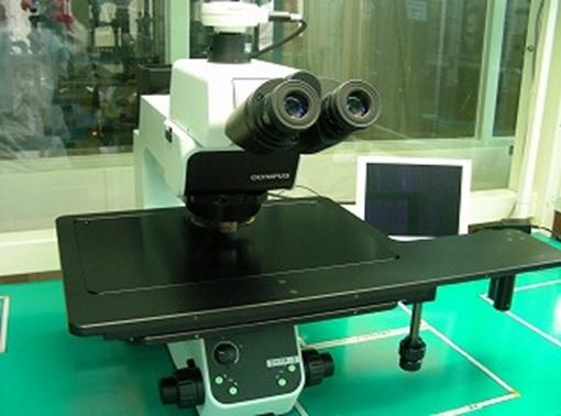300mm対応金属顕微鏡